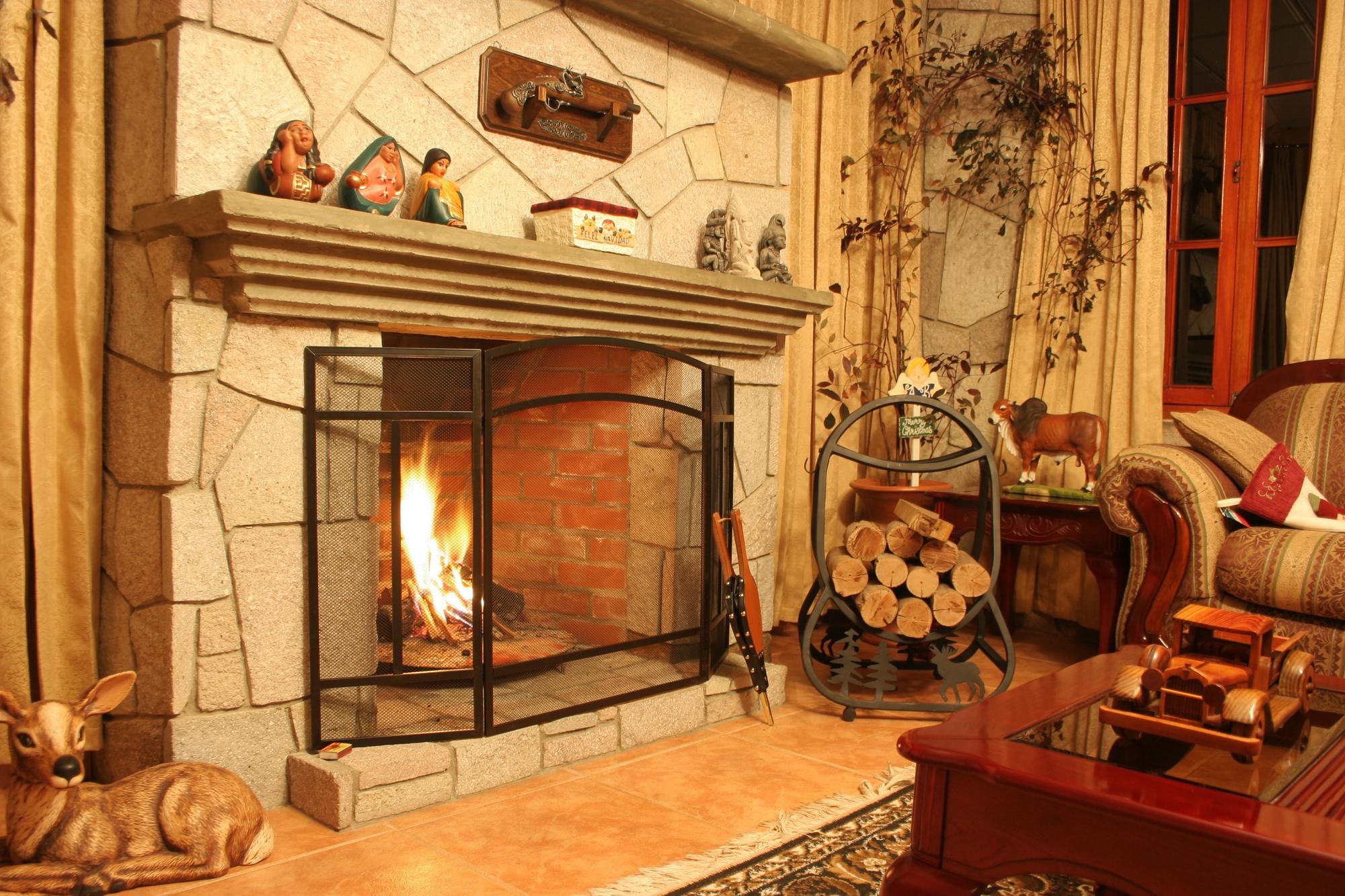 Deerfield Fireplace Tile Installation